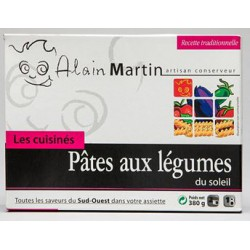 Pâtes aux légumes du soleil