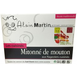 Mitonné de mouton aux flageolets cuisinés